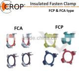 China manufacturer high quality annular type hose clamp