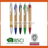 Promotional wood ball pen,eco freindly wood ballpoint pen