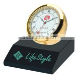 business gift set - Corporate Gift desk clock metal clock