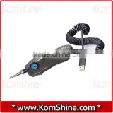 Komshine KIP-500P Fiber Optic Video Inspection Probe with USB, Fiber Optic Connector MicroScope/Inspector