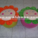 JM7151 Plush Inflatable Stool with Flower Shape