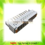 10 pairs 3-pole over-voltage protection magazine for LSA highband module without GDT arrester