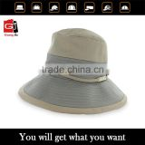 Guangzhou supplier factory price with your own logo fashion stylish custom bucket hat for woman