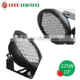 Super Bright Jeep Wrangler Accessories 225W Led Driving Light, 10inch Round 225W Led Driving Light