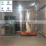 PVD coating machine for metal,stainless steel, plastic, ceramic, glass (UBU), vacuum PVD