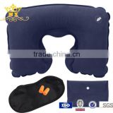 travel kit including travel inflatable pillow, eye mask, ear plug                                                                         Quality Choice