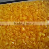 Diced Canned Yellow Peach 3100ml