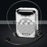 Portable teaching voice Amplifier,Wired voice amplifier,Mini promotion/tour guiding/speech microphone voice amplifier