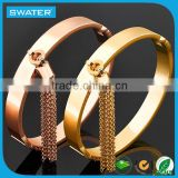 Wholesale Women Bracelet Jewelry,Tassel New Design Gold Bracelet,Gold Plated Bangles