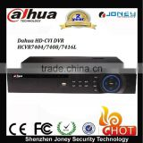 New dahua hdcvi dvr hcvr7404/7408/7416l 4/8/16ch Tribrid HDCVI&Analog&IP 1.5U DVR 4 SATA HDD up to 16TB