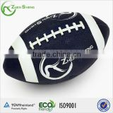 Zhensheng synthetic rubber custom rugby ball