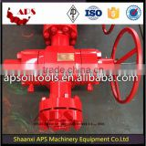 Oil and Gas Sulfur-resistance Gate Valve, API 6A High Pressure Gate Valve, Manual or Hydraulic Gate Valve