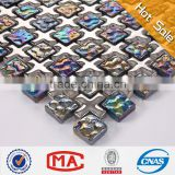 toy mosaic vitrified porcelain tiles black Iridescent glazed ceramic mosaic fused glass mosaic mixed patterns