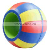 High Quality gymnastics indoor soft play equipment rainbow barrel gym equipment for kids