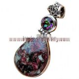 Perfect!! Eudialite Mystic Topaz Jewelry H597 Gemstone Pendant Necklaces For Women