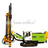 Chinese professional supplier ZGYX-460 Integrated open air dth drilling rig with cat engine