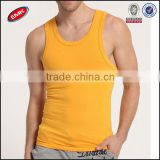 Korean style fashion trend Elastic Gym Singlet men's tight tank top