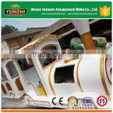 Top amusement park equipment electric or diesel used trackless train for sale