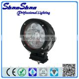 high warranty high bright led machine work light,harvester fog lamp,cree 45w led worklights