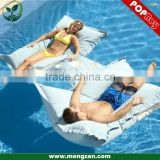 Swimming pool Floating Bean Bag CUP-HOLDER pillow, outdoor waterproof bean bag cushion pillow with cup holder