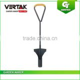 Garden supplier new product long handle gardening metal bulb planter , hand bulb planter , tulip bulb transplanter