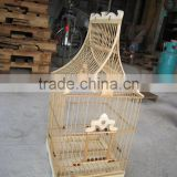 Various type of Natural Bamboo bird cages - High Export quality - Attractive design - Good price