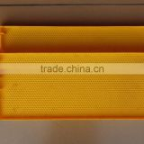 Alibaba express beekeeping equipment plastic comb foundation sheet / beeswax foundation sheet