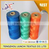 Junchi pp multifilament high tenacity FDY dope dyed fishing net polypropylene twisted twine
