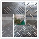 Embossed aluminum checkered plate, deep processing aluminum embossed plate for floor, stairs
