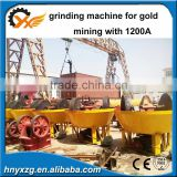 Yuxiang machinery Good profit stone mill china wet pan mill for gold