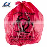 7 gallon red isolation infectious biohazard waste bag