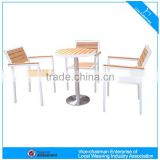 Modern stylish outdoor poly wood dining set