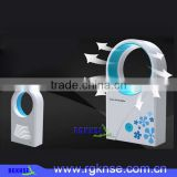 RGKNSE New Portable USB Mini Bladeless Fan Refrigeration Desktop No Leaf Cooling Fans Air Conditioner