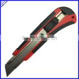 High quality durable blade utility knife with safety lock