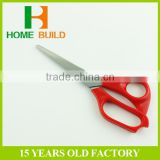 Factory price HB-S7112 red handle stainles steel tailor scissors