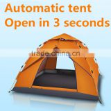 Climbing Camping Hiking season use Colorful Waterproof Double Layer folding automatic beach Tent