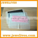Hot selling for mac pro colored rubber laptop keyboard covers