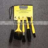 Soft pp bristle pp handle car wheel brush detail cleaning