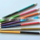 promotional hot selling double heads customized multi leads rainbow color drawing art pencil