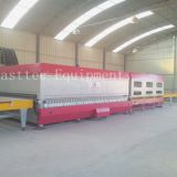 Horizontal flat glass tempering furnace