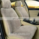 Factory price soft and smooth sheepskin pure leather car seat covers