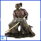 2017 Newest design metal Chinese warrior statues