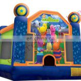module bouncers,inflatable party jumper,commercial bouncers d099