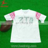 Healong Dye Sublimation Heat Transfer Imprinting Digital Printing Customized Rugby Clothing