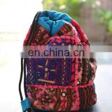 Potli Style Banjara bag Cross Body Kuchi Banjara Sling Bag Gypsy Purse Ethnic Hippie Hobo