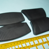 Custom injection molded brake pedal or clutch pedal covers  rubber pedal pads China Manufacturer