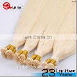Trade Assurance Full Cuticle Aligned Human Remy Hair Extension I Tip Hair Extension