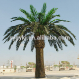 Artificial large outdoor date palm trees real-look metal date palm trees for outdoor or indoor decoration