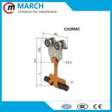 High quality festoon c-track cable trolley crane parts hoist