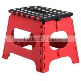 Super quality Folding Step Stool great for kids and adults 11 Inches. Red - Black, holds up to 300 LBS